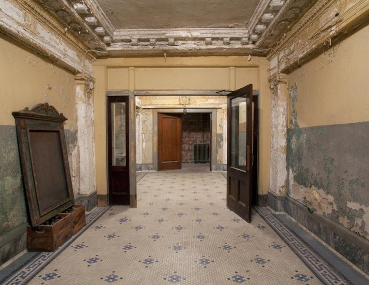 Entrance Hallway Orpheum Theater New Bedford, Ma