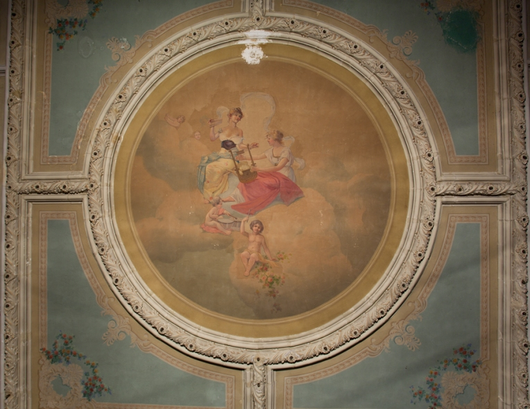 Ceiling Mural Orpheum Theater New Bedford Ma