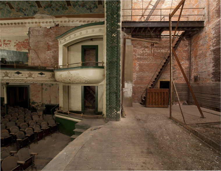 Backstage Orpheum Theater
