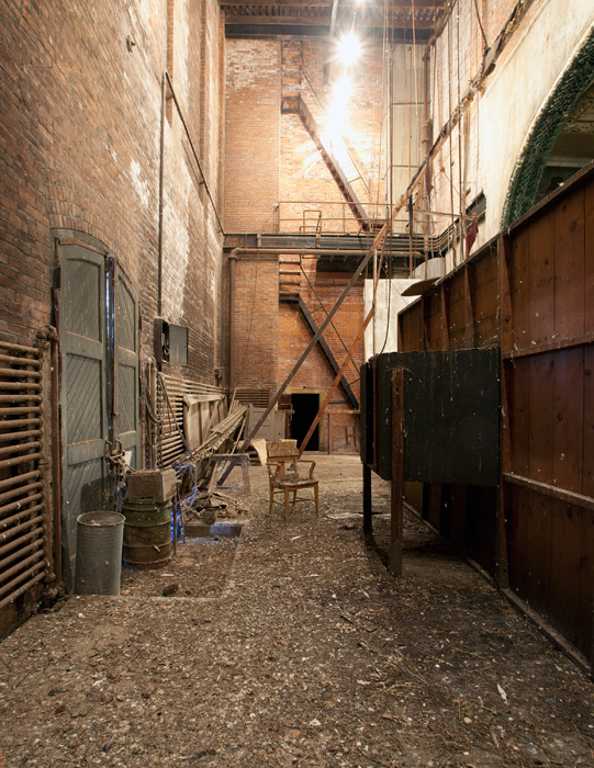 Backstage at the Orpheum Theater