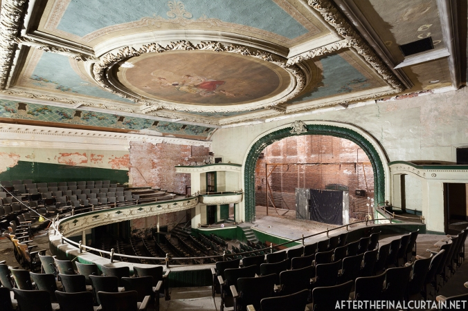 View of the Orpheum Theatre auditorium from the balcony.
