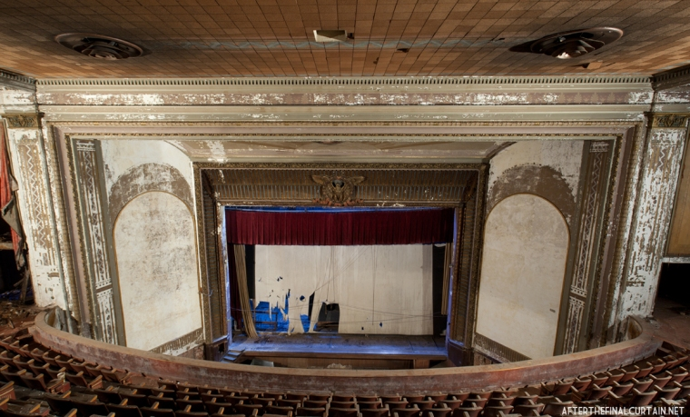 Balcony Level, Victory Theatre