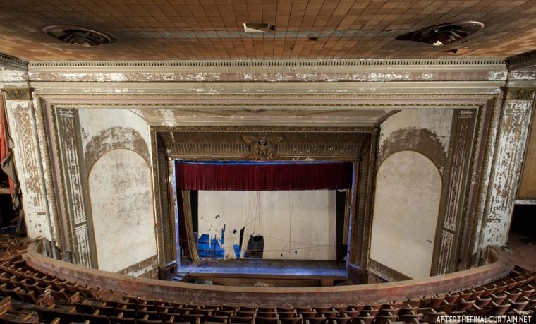 Balcony Level, Victory Theatre
