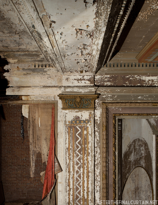Plaster work Victory Theatre