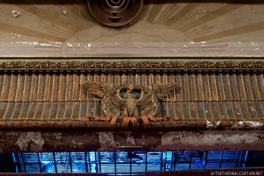 Eagle, Victory Theatre Proscenium Arch Holyoke Ma