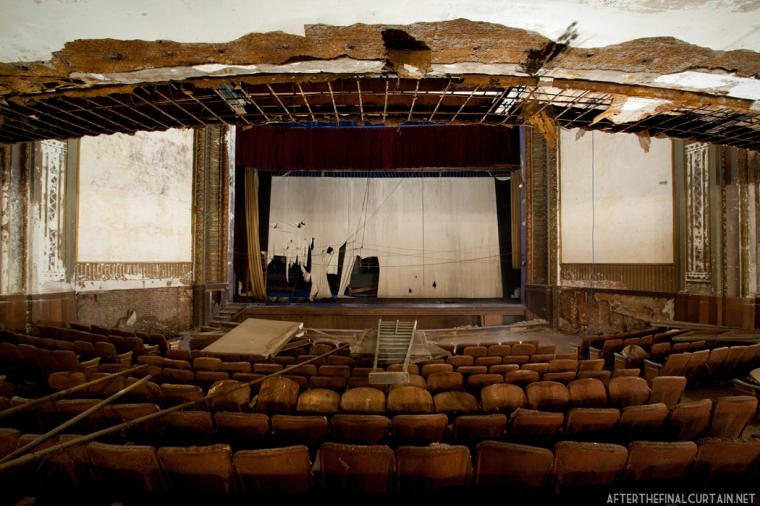 main floor, victory theatre