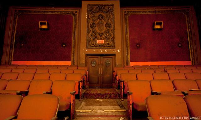 Balcony exit - Loew's Kings Theater