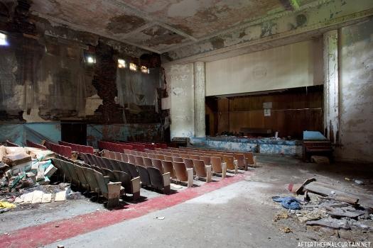 Main floor of the Sattler Theatre