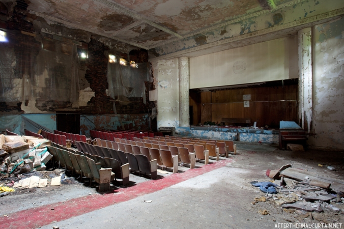 Main floor of the Sattler Theatre
