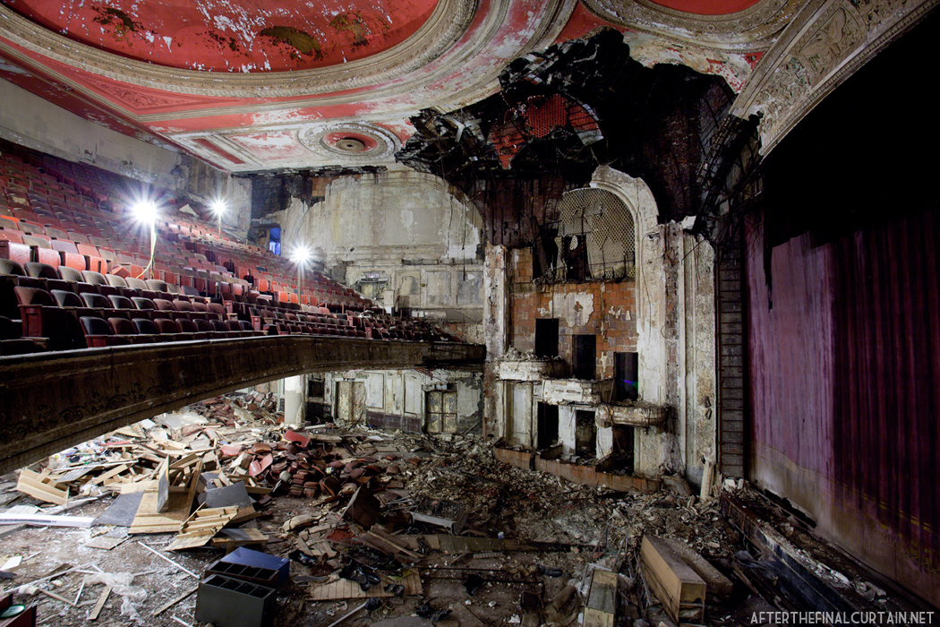 The Newark Paramount Theatre After The Final Curtain