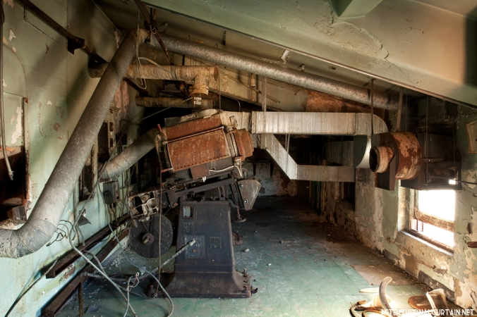 Original projector room - Ridgewood Theatre Queens, NY