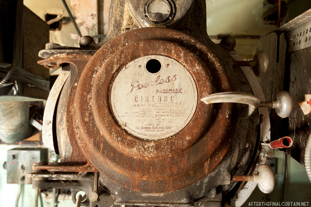 Original projector - Ridgewood Theatre Queens, NY