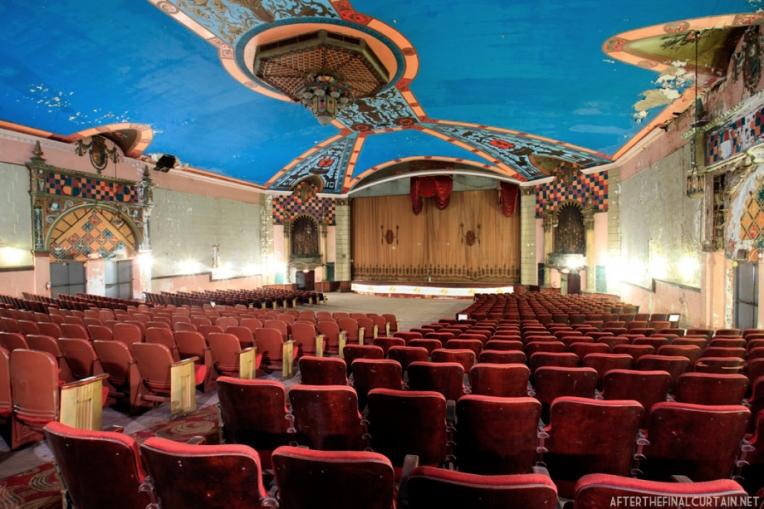 The auditorium of the Lansdowne Theatre.