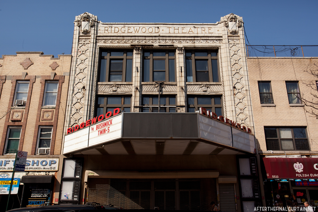 The Ridgewood Theatre After The Final Curtain