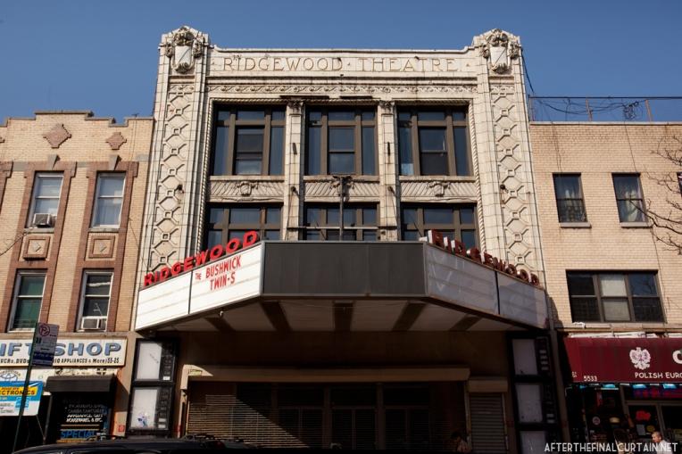 Facade - Ridgewood Theatre Queens, NY