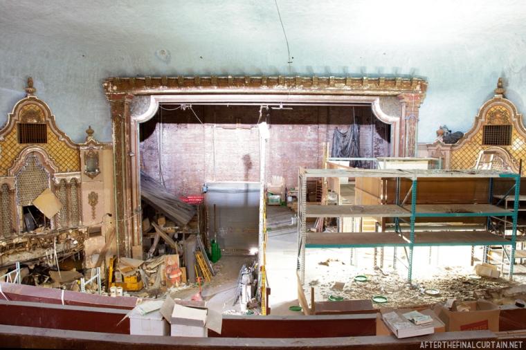 Stage area, Paramount Theatre