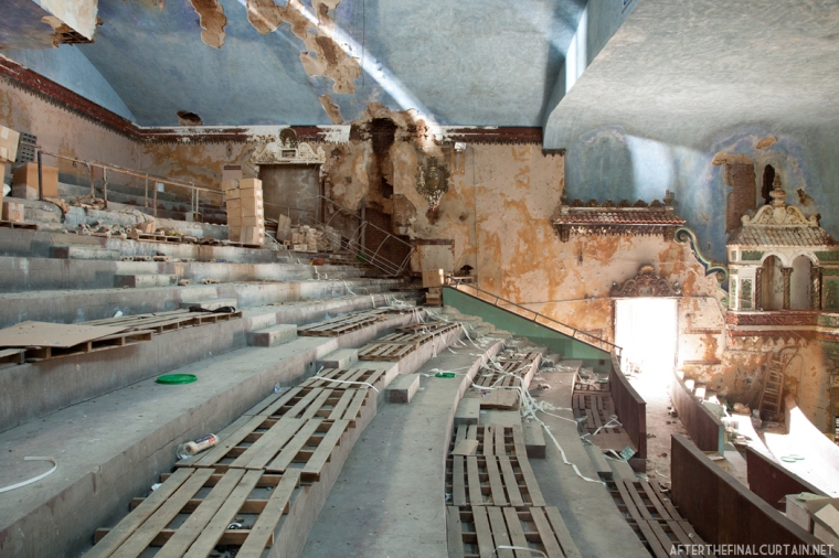 Balcony level, Paramount Theatre