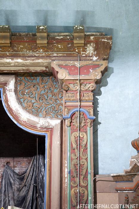 proscenium arch, paramount theatre