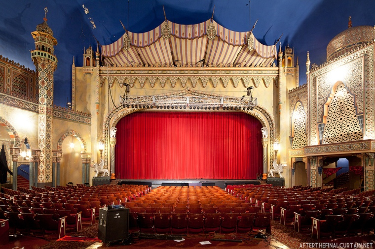 Auditorium of the Avalon Theatre in Chicago, IL
