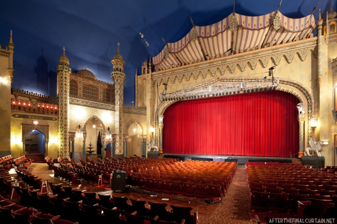 Main level of the Avalon/New Regal Theatre in Chicago, IL