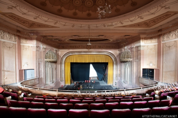 Madison theater balcony view