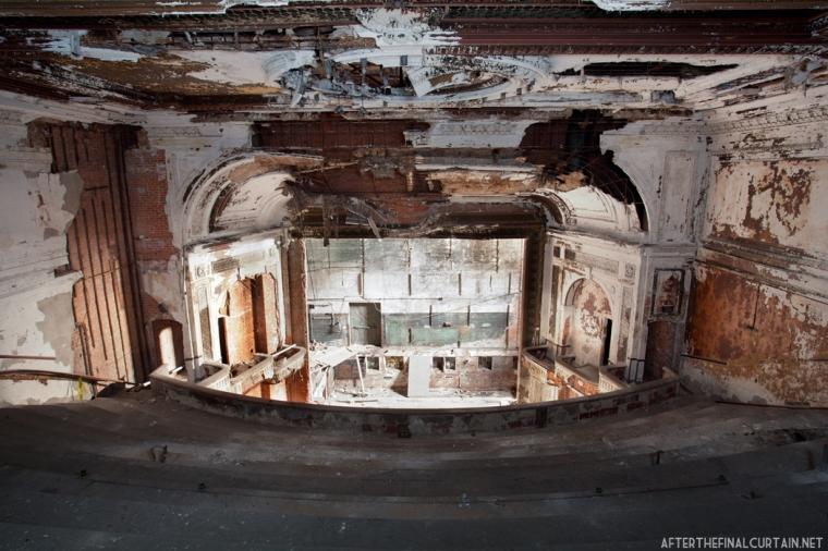 Balcony level, National Theatre Detroit, MI
