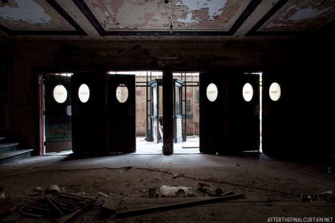 Exit, National Theatre Detroit, MI