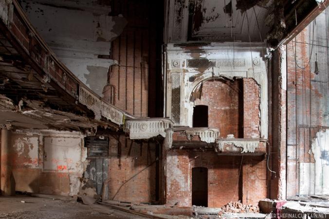 Plaster work National Theatre Detroit, MI