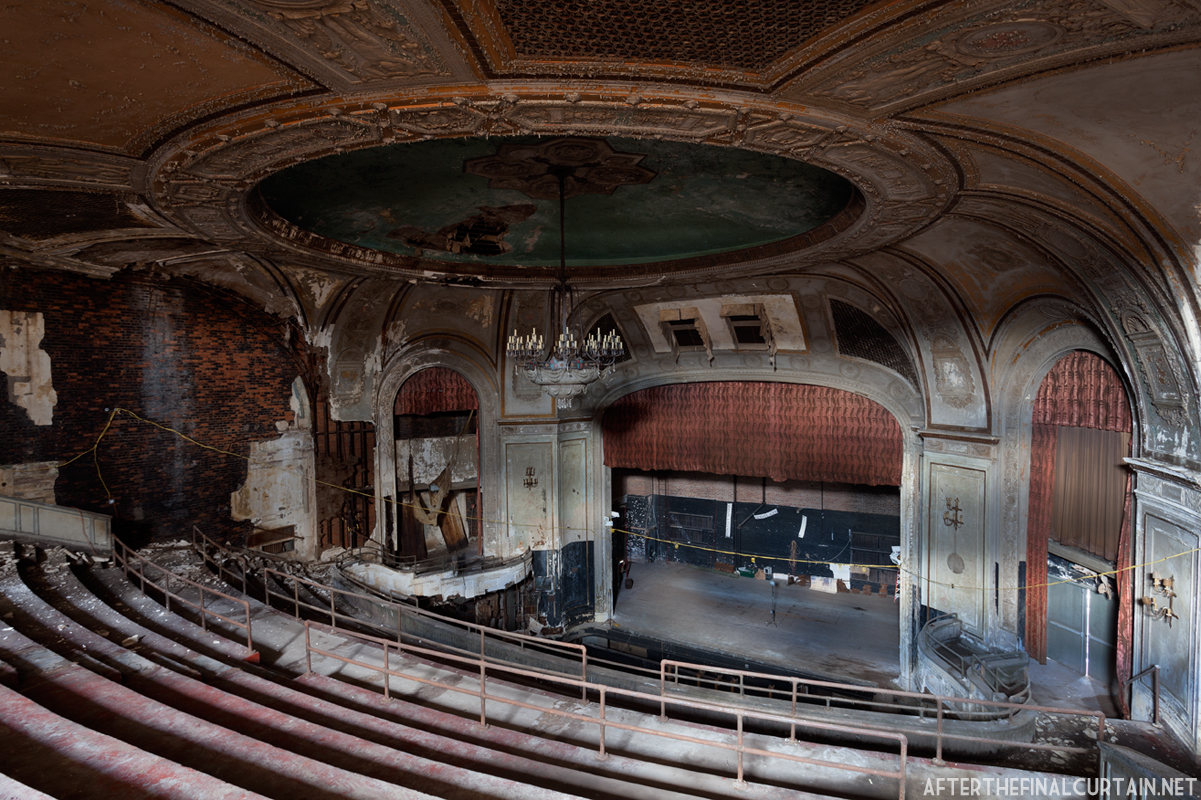 Embassy theatre after the final curtain for Balcony history