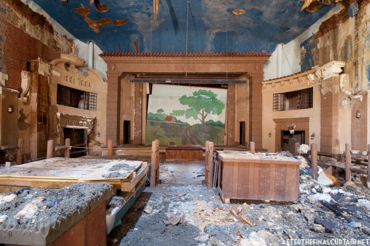 Stage, Paramount Theatre Marshall, Texas