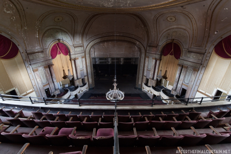 In the 60's and 70's the upper balcony was only used during popular films, such as the James Bond series.