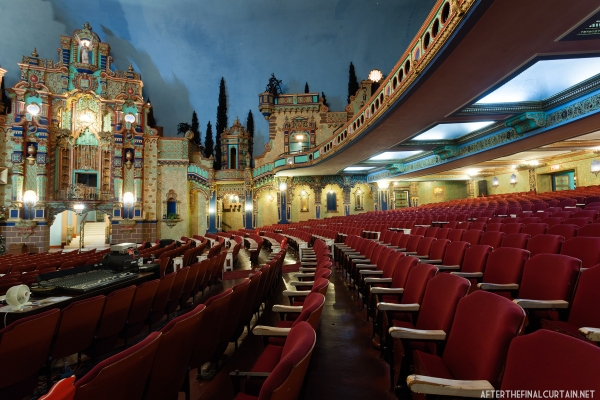 Due to a dwindling congregation, the former theater is rarely filled. The last time it was was when Pastor Mason Betha, a former rapper from Harlem, gave a sermon there in 2008.