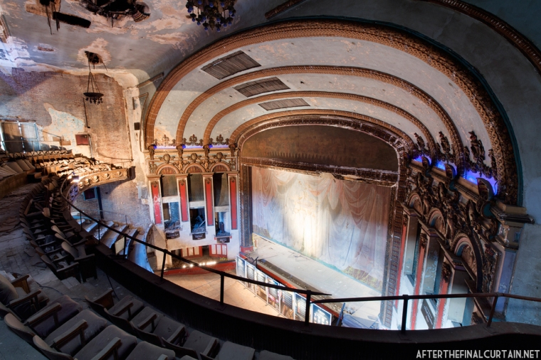 In the early 1920's the theater was used for church services on Sunday evenings.
