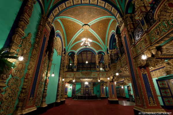 The lobby of the former Loew's Valencia Theatre.