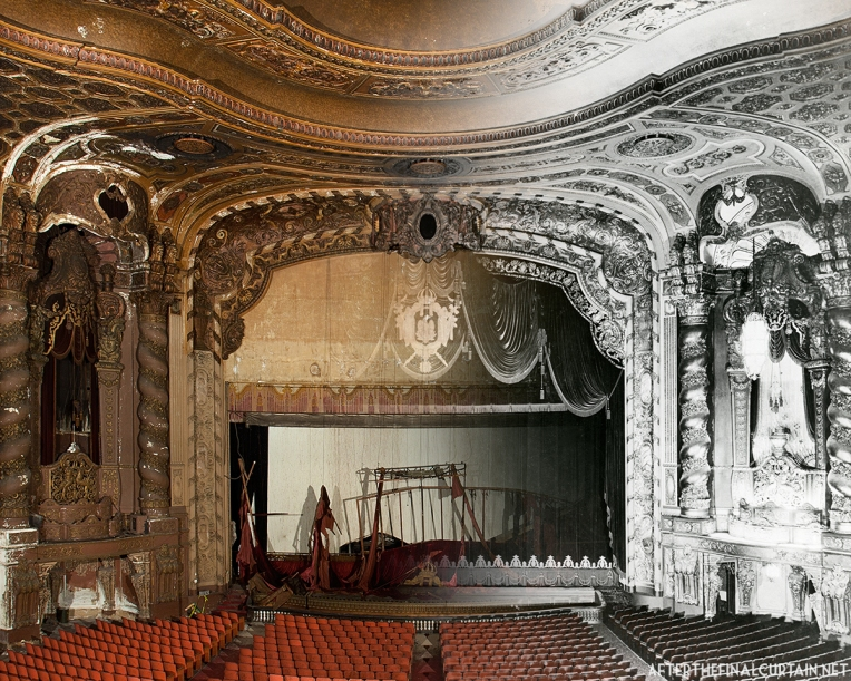 Loew's Kings Theatre Brooklyn, NY B&W Image from the Loew's Collection, American Theatre Architecture Archive, Theatre Historical Society of America