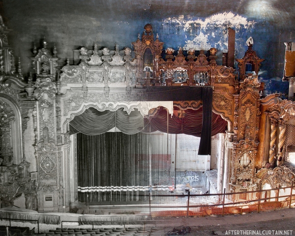 B&W Image of the RKO Keith's Theatre from the Richard L. Hay Collection, American Theatre Architecture Archive, Theatre Historical Society of America