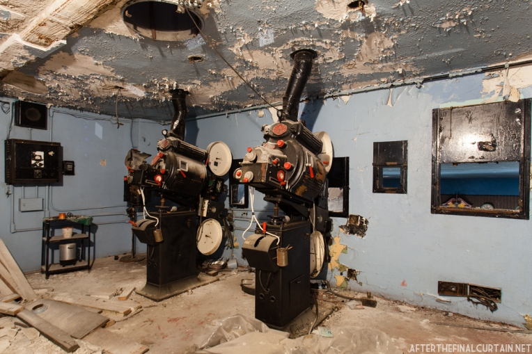 The Russell Theatre Foundation hopes to restore one of the projectors and display them in the lobby.