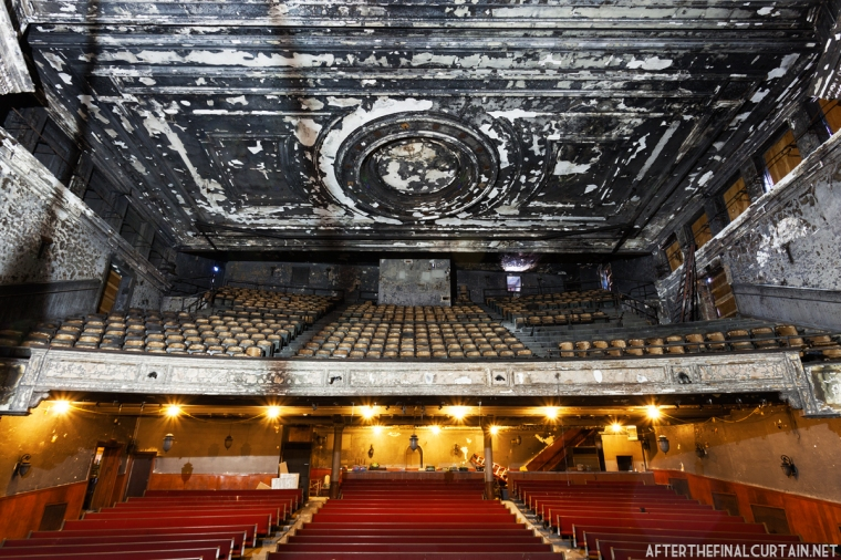 View of the auditorium from the stage.