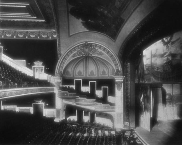 Historic image courtesy of the Brooklyn Theatre Index.