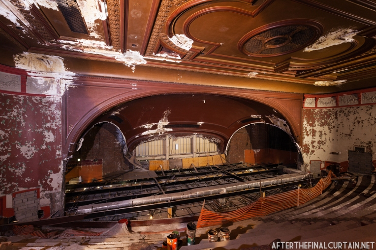 Much of the interior decor was removed in the 1940's.