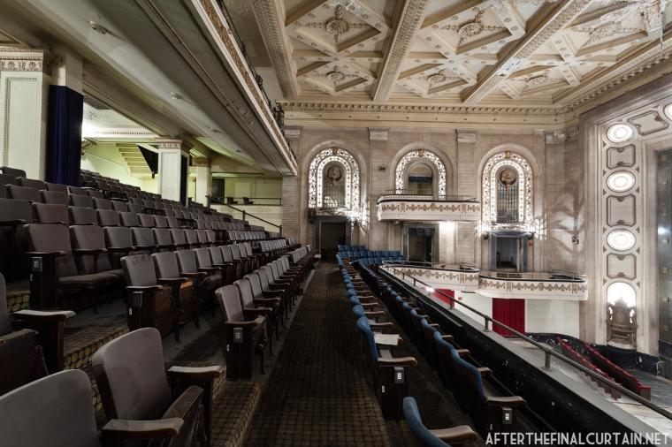 Mezzanine, Studebaker Theatre Chicago, IL