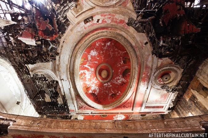 Ceiling, Paramount Theatre Newark, NJ