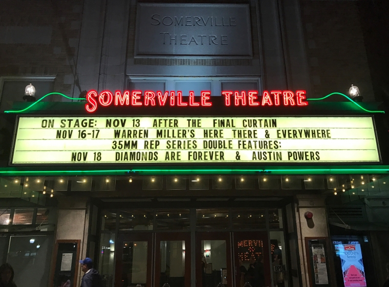 Somerville Theatre Somerville, MA