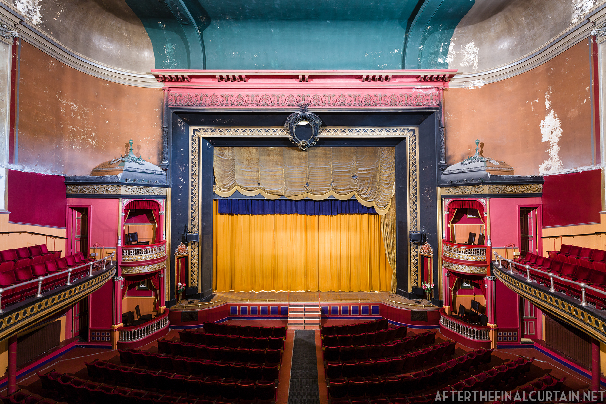Auditorium, Sorg Opera House - Middletown, Ohio.