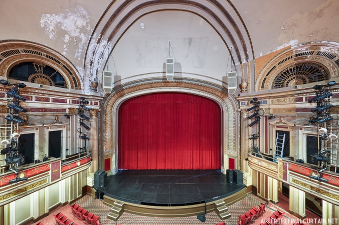 Photograph of the Strand Theatre Auditorium in Boston, MA