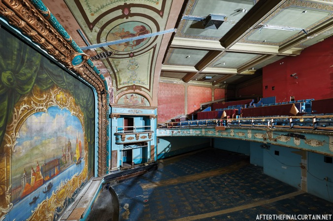Box Seats, Colonial Theatre Laconia, NH