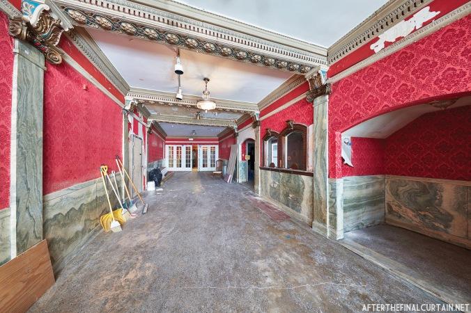 Lobby, Colonial Theatre Laconia, NH