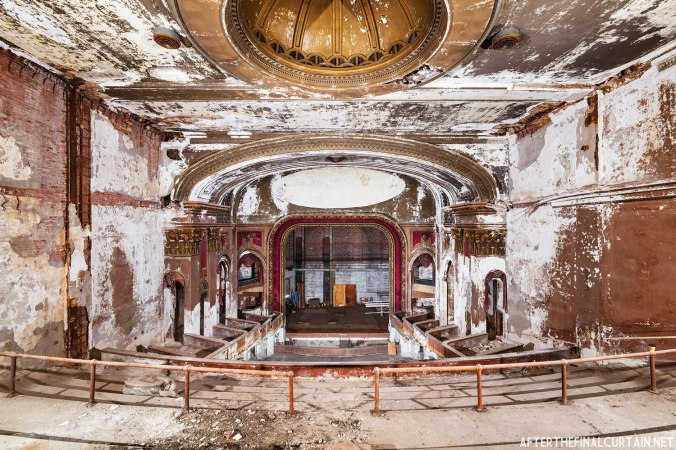 Auditorium of the Capitol Theatre in New London, CT