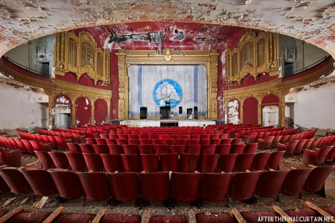 Orchestra Level, California Theatre San Diego, CA