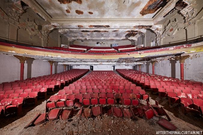 California Theatre Auditorium from the Stage
